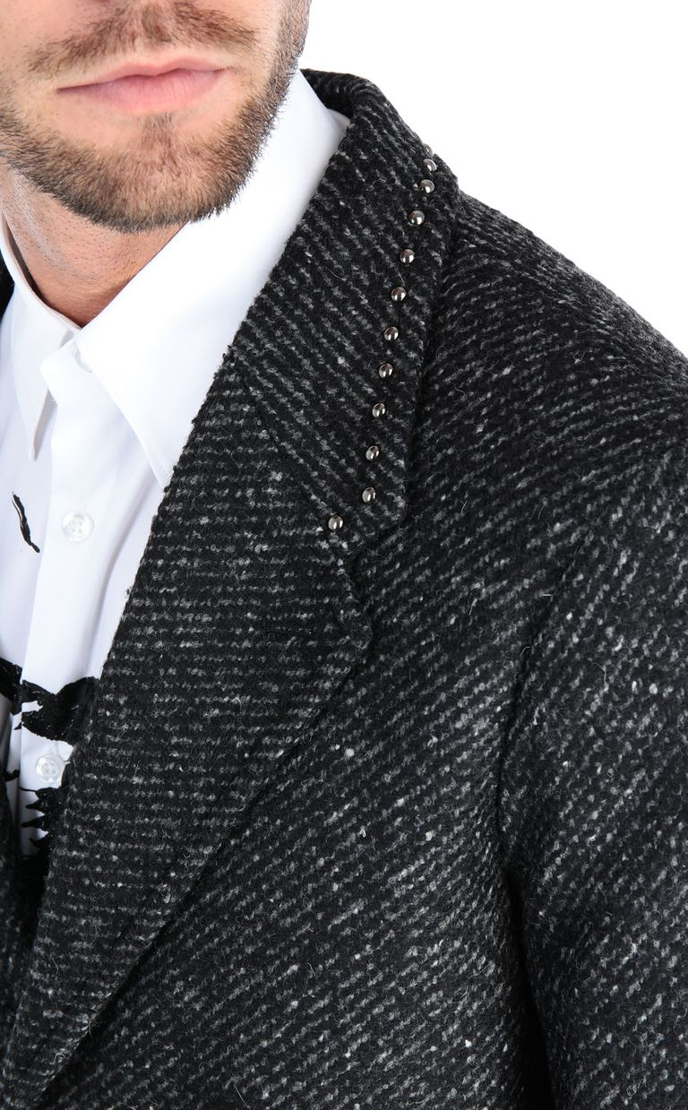 JUST CAVALLI Elegant long-sleeve coat Coat Man e