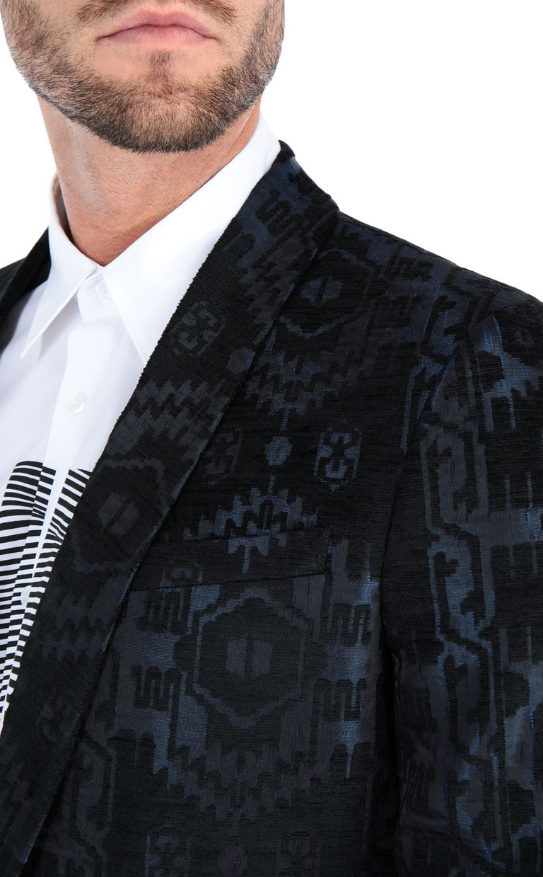 JUST CAVALLI Jacquard carpet blazer Blazer Man e