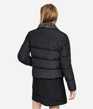 KARL LAGERFELD Bouclé and Nylon Down Jacket 9_f
