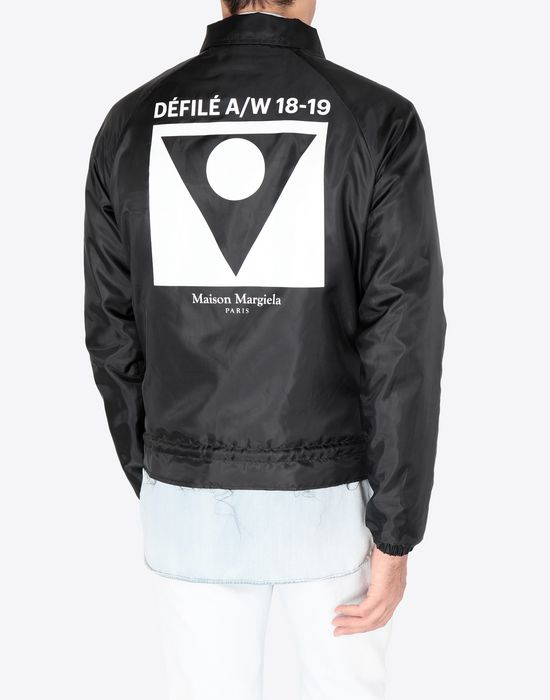 MAISON MARGIELA Défilé A/W18-19 logo sports jacket Jacket [*** pickupInStoreShippingNotGuaranteed_info ***] e