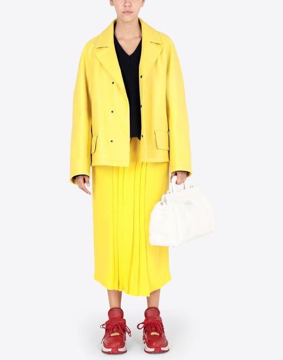 MAISON MARGIELA Nappa bonded leather sports jacket Jacket [*** pickupInStoreShipping_info ***] d