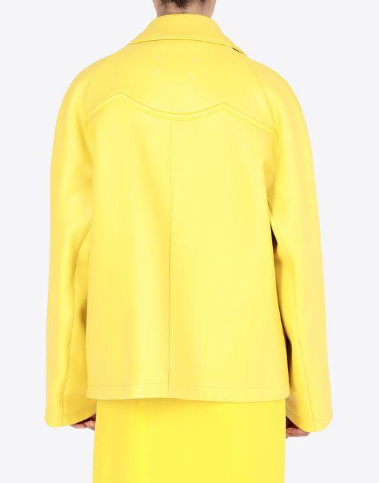 MAISON MARGIELA Nappa bonded leather sports jacket Jacket [*** pickupInStoreShipping_info ***] e