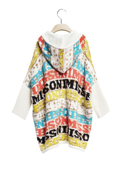 MISSONI KIDS Wrap Ivory Woman - Front