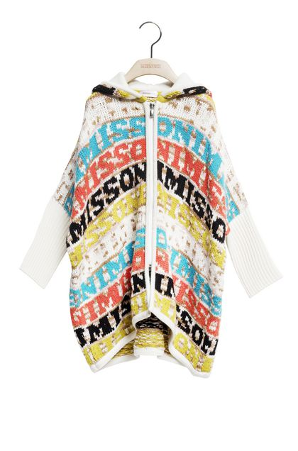 MISSONI KIDS Wrap Ivory Woman - Back
