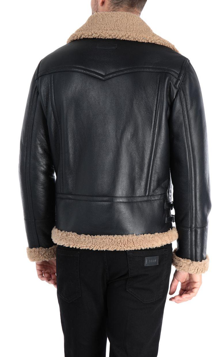 JUST CAVALLI Camouflage jacket Leather Jacket Man d