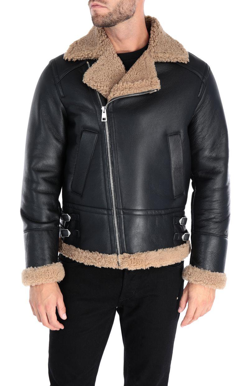 JUST CAVALLI Camouflage jacket Leather Jacket Man f