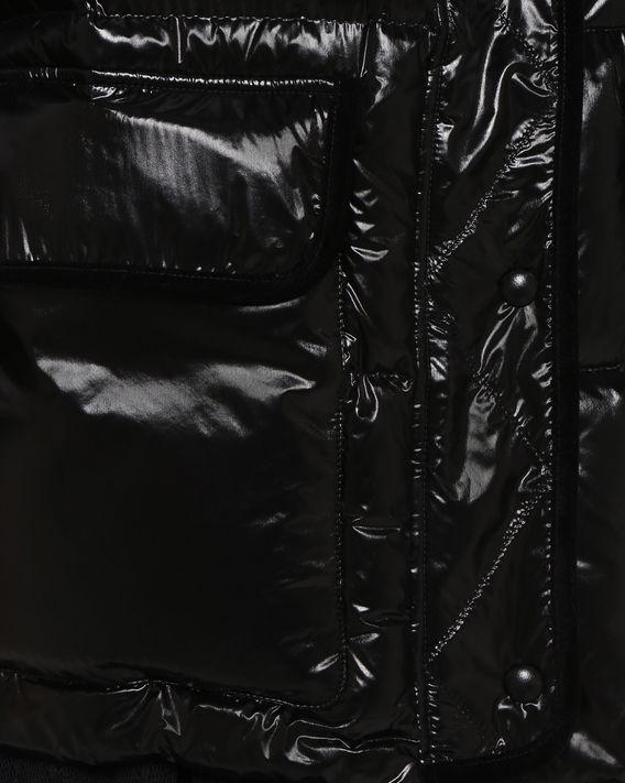 REDValentino Daunenjacke aus glänzendem Nylon und Samt
