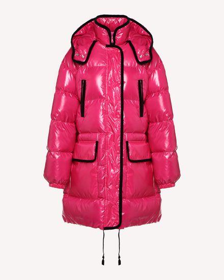 REDValentino Down jacket Woman QR0CP00G47W FA9 a