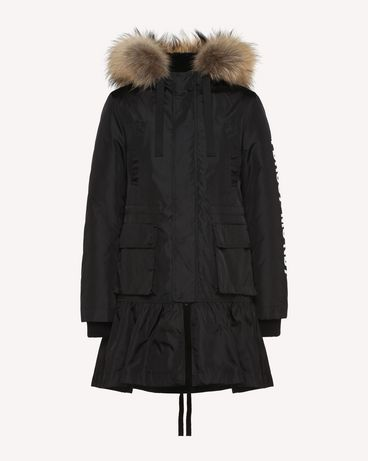 REDValentino QR0CJ00Q445 0NO OUTER JACKET Woman a