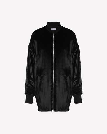 REDValentino QR0CI0R542A 0NO OUTER JACKET Woman a