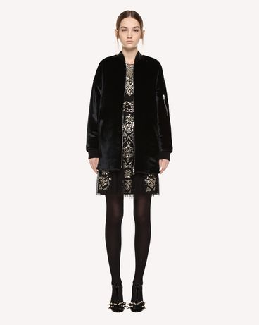 REDValentino QR0CI0R542A 0NO OUTER JACKET Woman f