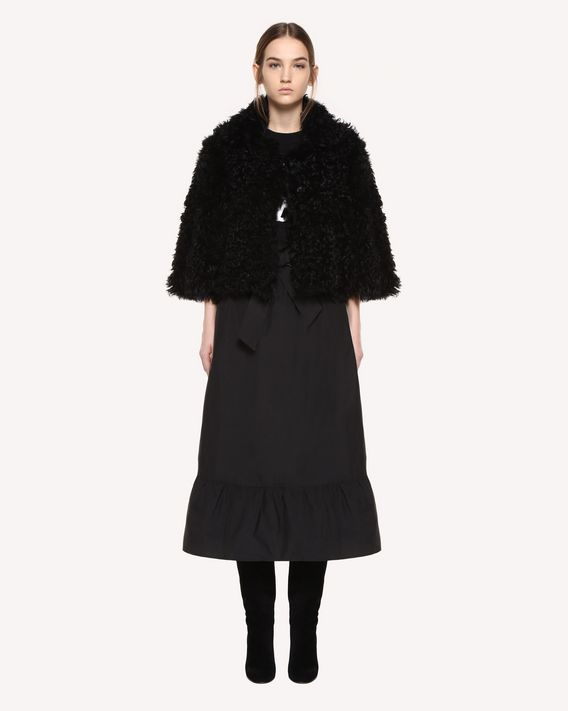 REDValentino Reversible Kalgan fur jacket