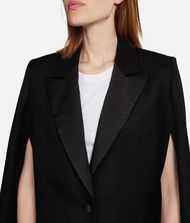 KARL LAGERFELD Virgin Wool Tailored Cape 9_f
