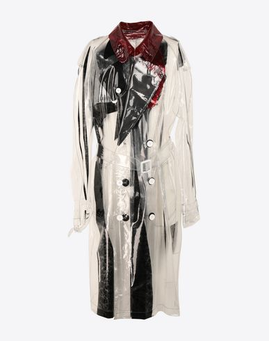 MAISON MARGIELA Raincoat Man PVC trench coat f