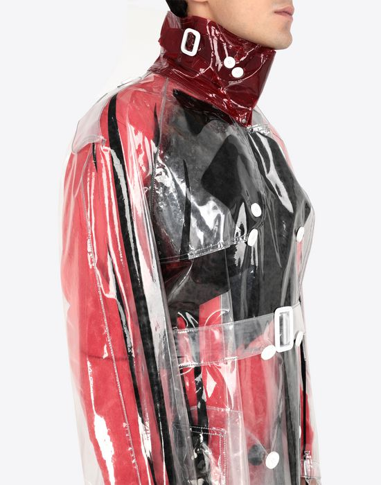 MAISON MARGIELA PVC trench coat Raincoat [*** pickupInStoreShippingNotGuaranteed_info ***] a