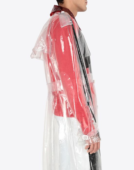 MAISON MARGIELA PVC trench coat Raincoat [*** pickupInStoreShippingNotGuaranteed_info ***] b