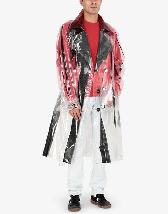 MAISON MARGIELA PVC trench coat Raincoat [*** pickupInStoreShippingNotGuaranteed_info ***] d
