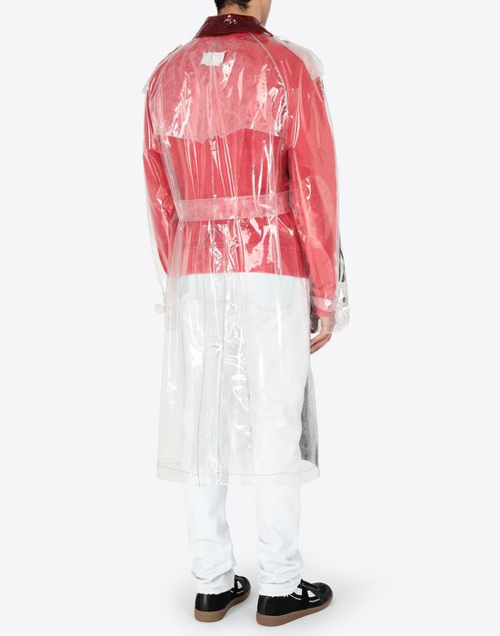 MAISON MARGIELA PVC trench coat Raincoat [*** pickupInStoreShippingNotGuaranteed_info ***] e