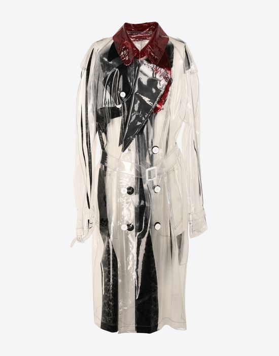 MAISON MARGIELA PVC trench coat Raincoat [*** pickupInStoreShippingNotGuaranteed_info ***] f