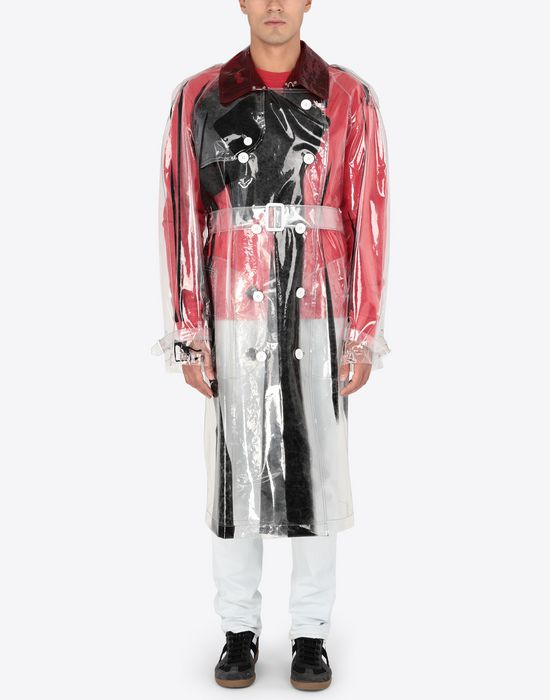 MAISON MARGIELA PVC trench coat Raincoat [*** pickupInStoreShippingNotGuaranteed_info ***] r