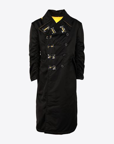 MAISON MARGIELA Coat Man Nylon bomber coat f