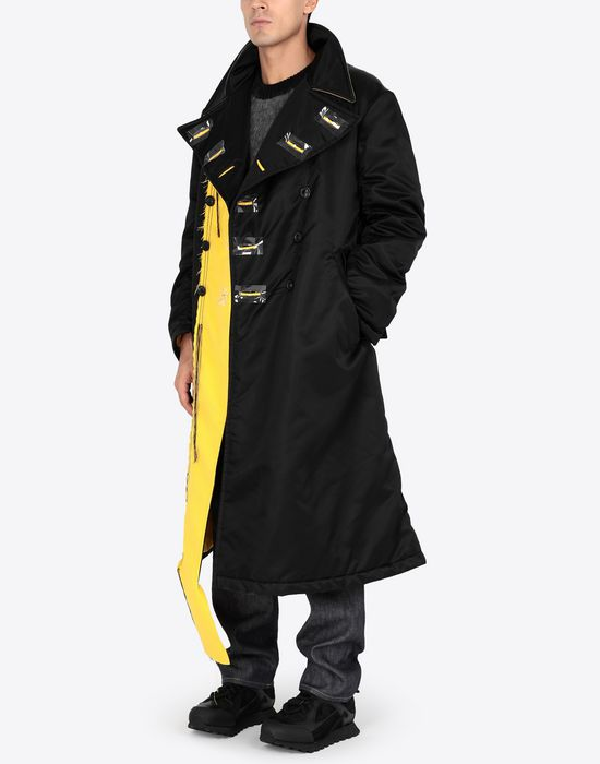 MAISON MARGIELA Nylon bomber coat Coat [*** pickupInStoreShippingNotGuaranteed_info ***] d