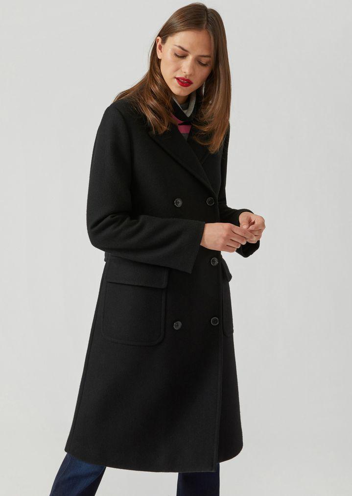 Zweireihiger mantel damen