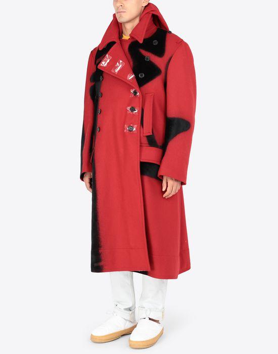 MAISON MARGIELA Shadow Play-print coat Coat [*** pickupInStoreShippingNotGuaranteed_info ***] d