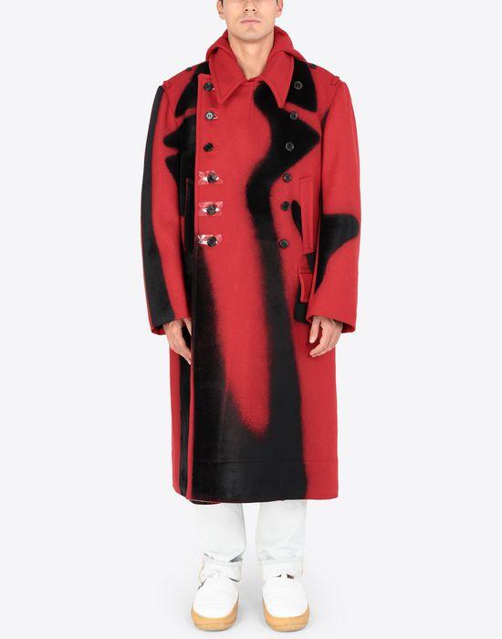 MAISON MARGIELA Shadow Play-print coat Coat [*** pickupInStoreShippingNotGuaranteed_info ***] r