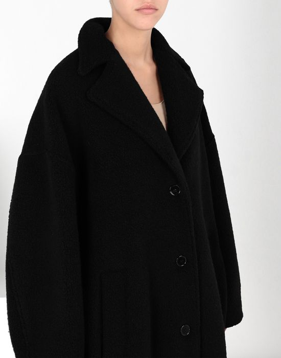 MM6 MAISON MARGIELA Cocoon jersey coat  Coat [*** pickupInStoreShipping_info ***] e