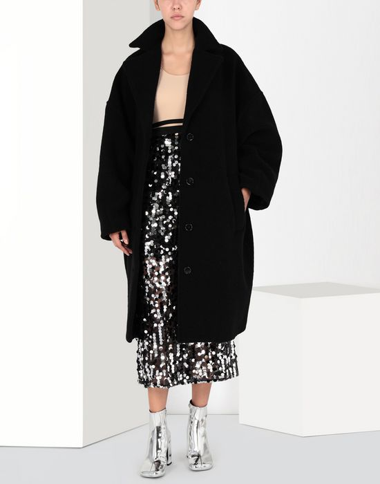 MM6 MAISON MARGIELA Cocoon jersey coat  Coat [*** pickupInStoreShipping_info ***] r