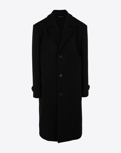 MAISON MARGIELA Coat [*** pickupInStoreShipping_info ***] Virgin wool coat  f