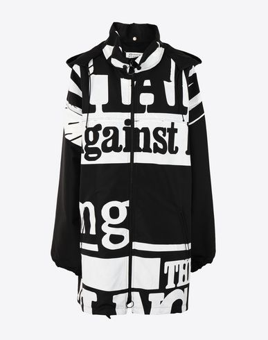 MAISON MARGIELA Jacket [*** pickupInStoreShipping_info ***] Vitamin print sports jacket  f
