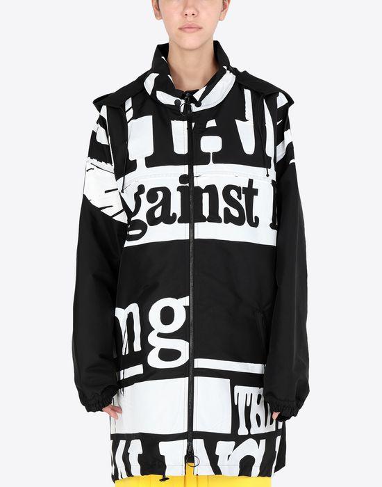 MAISON MARGIELA Vitamin print sports jacket  Jacket [*** pickupInStoreShipping_info ***] r