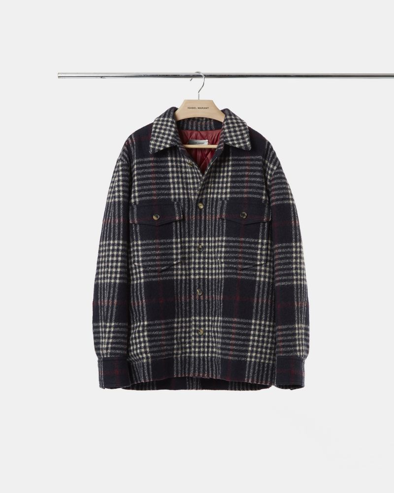 GERVEY checked jacket ISABEL MARANT
