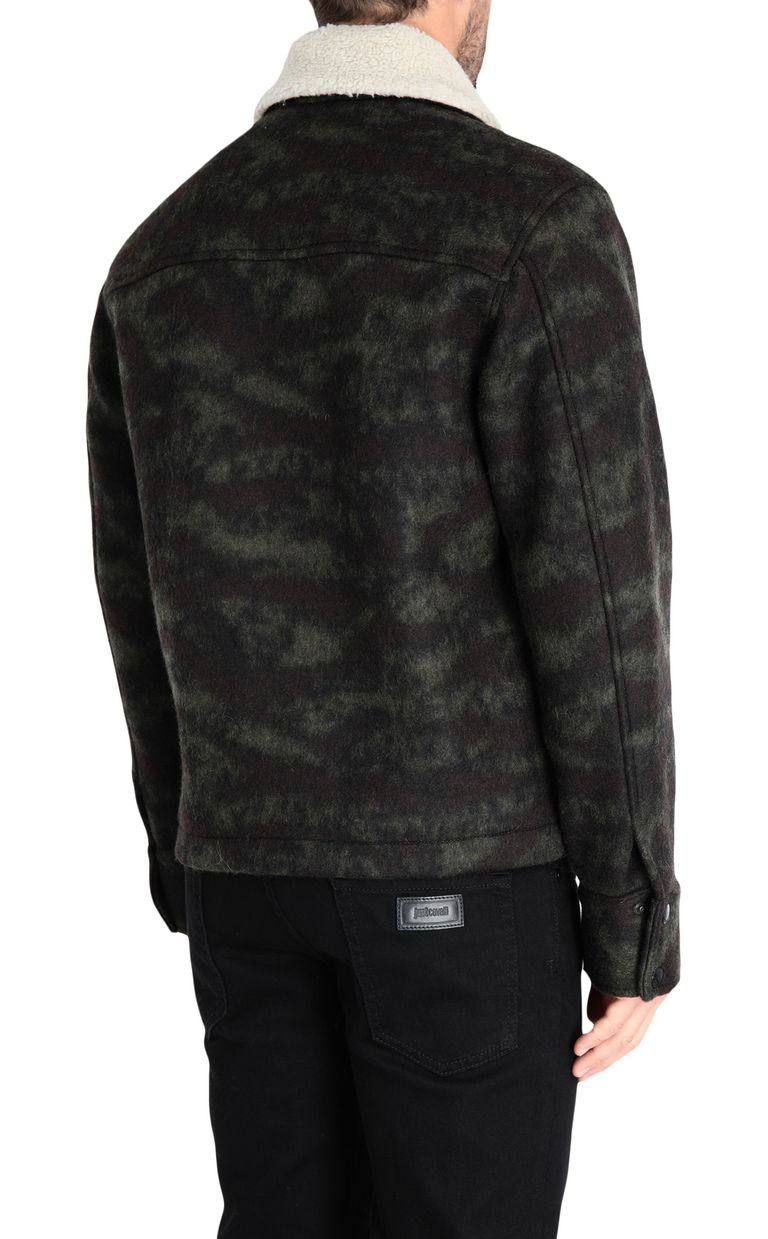 JUST CAVALLI Camouflage jacket Jacket [*** pickupInStoreShippingNotGuaranteed_info ***] d