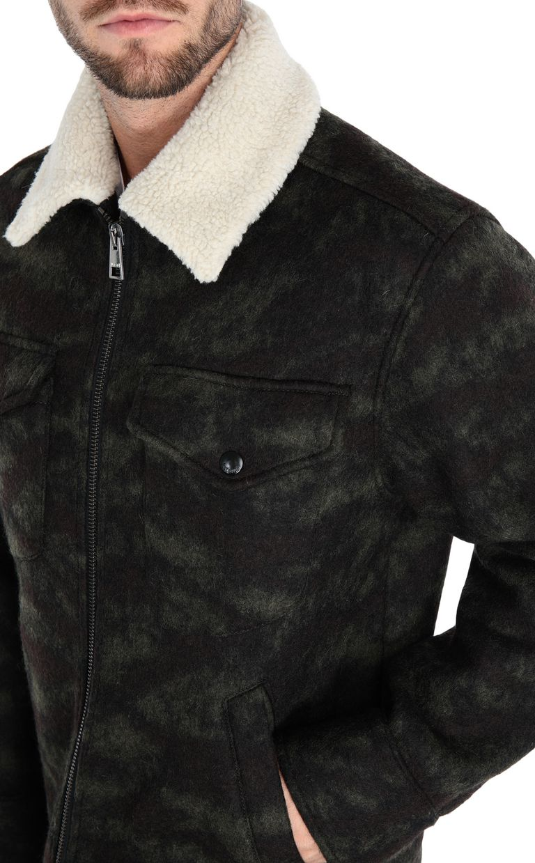 JUST CAVALLI Camouflage jacket Jacket [*** pickupInStoreShippingNotGuaranteed_info ***] e