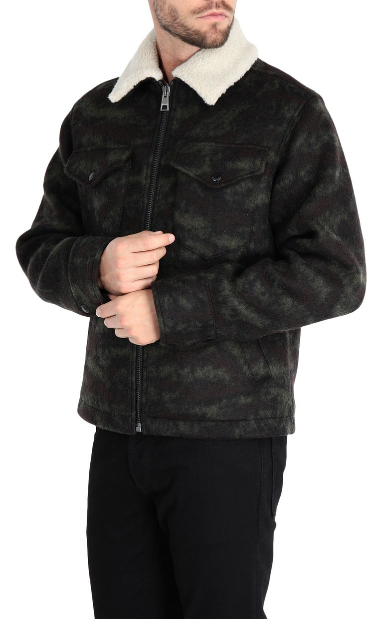 JUST CAVALLI Camouflage jacket Jacket [*** pickupInStoreShippingNotGuaranteed_info ***] f