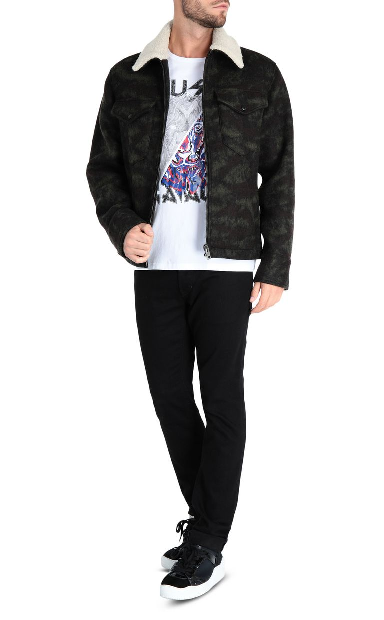 JUST CAVALLI Camouflage jacket Jacket Man r