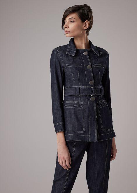 GIORGIO ARMANI Fashion Jacket [*** pickupInStoreShipping_info ***] f