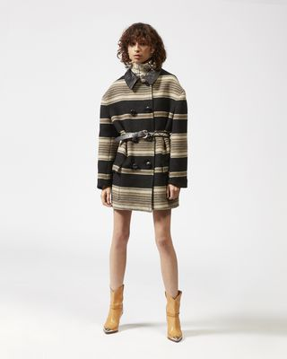 HILDA striped coat