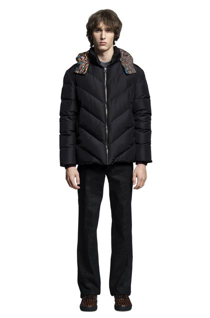 MISSONI Down Jacket Black Man - Back