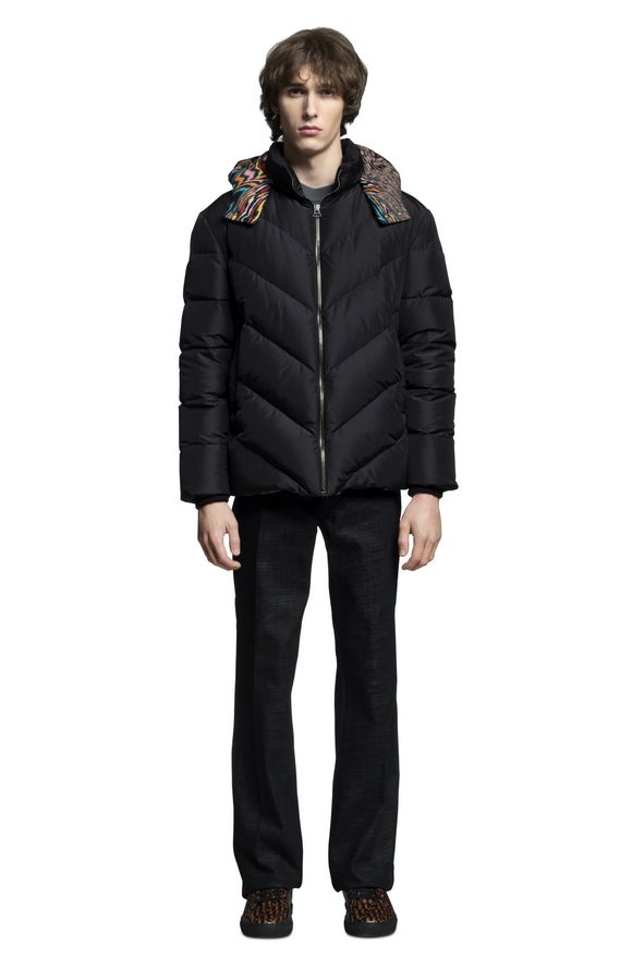 MISSONI Down Jacket Man, Frontal view
