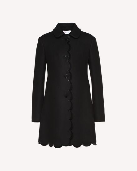 REDValentino Coat Woman QR0CA1W02LC 0NO a
