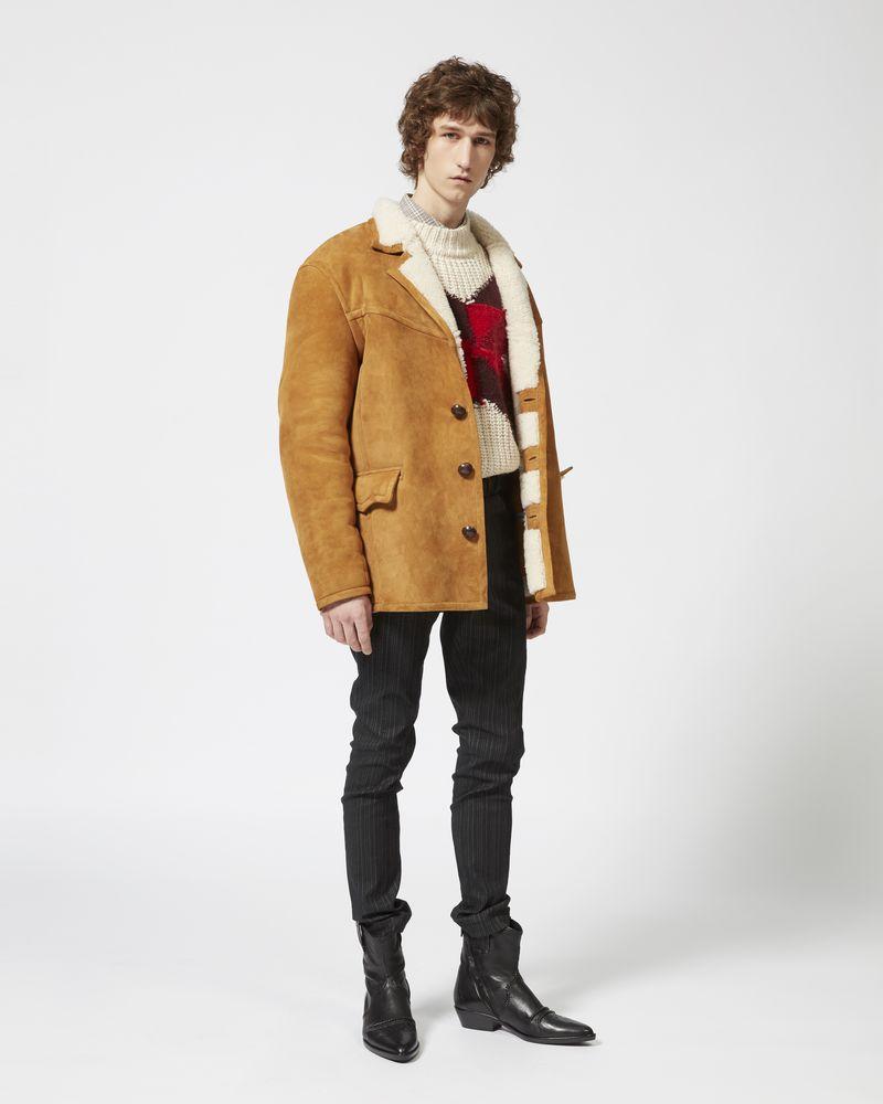 ARMEL shearling coat ISABEL MARANT