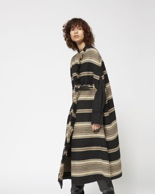 ISABEL MARANT COAT Woman HUAN long cape r