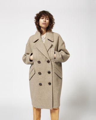 ISABEL MARANT COAT Woman ETIM coat r