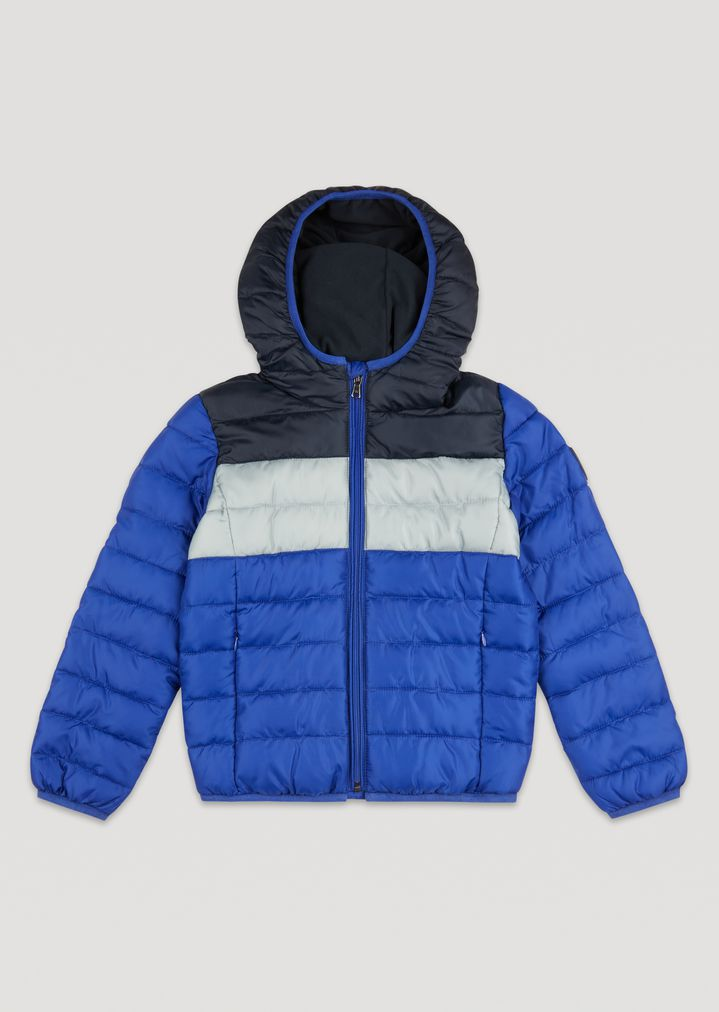 9ef9ca354743e Padded and quilted jacket with hood   Man   Emporio Armani