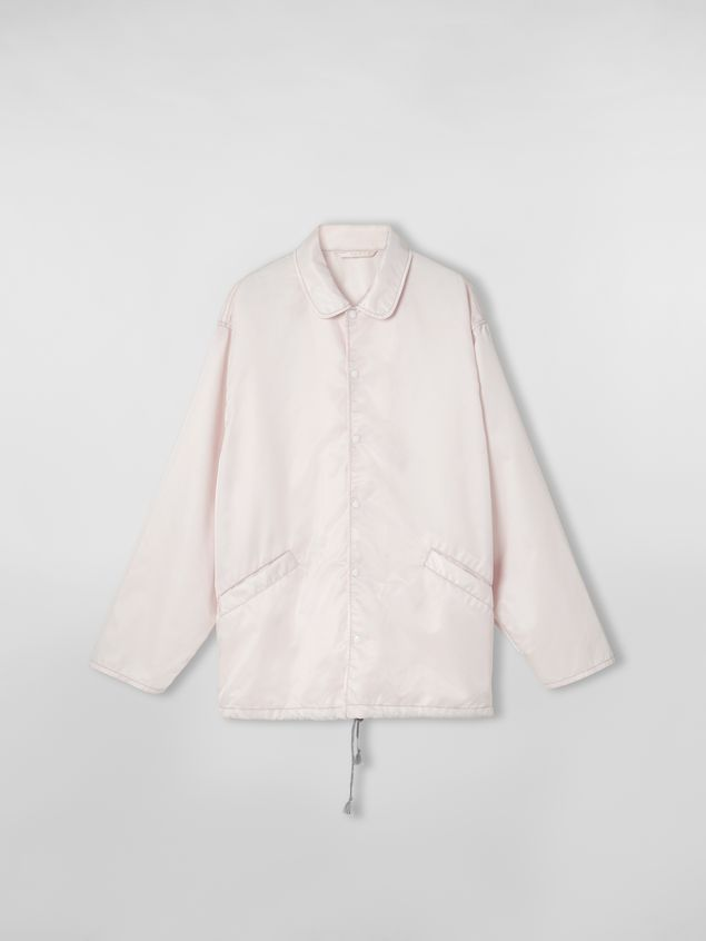 Marni Bomber jacket in nylon pink Man - 2