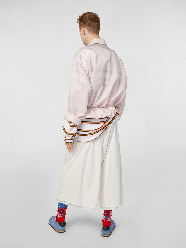 Marni Bomber jacket in nylon pink Man - 3